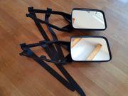 Universal Doppelspiegel Aufsteckspiegel Caravanspiegel Wohnwagenspiegel