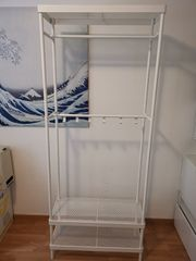 Ikea MACKAPÄR weiß 78x32x193 cm