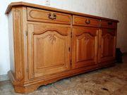 Massivholz Kommode Schränkchen Sideboard - antik -