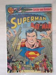 Geburtstag Geschenk altes Comic Superman