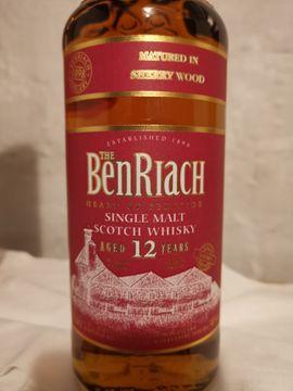 Essen und Trinken - Ben Riach sherry wood 12