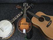Gitarre Mandoline Banjo Lap Steel