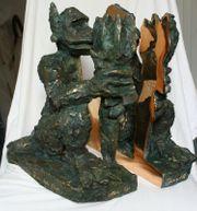 Jörg Immendorff museale Rarität Bronze