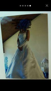 Hochzeitskleid Größe 34 mit Zubehör