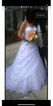 Hochzeitskleid Brautkleid inkl Schleier Diadem