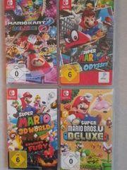 diverse super mario spiele Nintendo