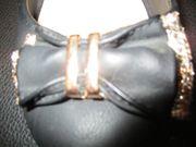 ballerinas schwarz schicke schleife gr
