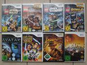 Verkaufe Wii-Konsole mit 8 Spielen