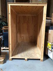 Lagerkisten aus Holz - Holzkisten - Holzcontainer