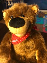Teddybär Geschichtenbär Brummel