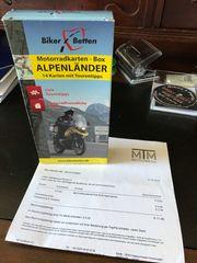 Motorradkartenbox Alpenländer