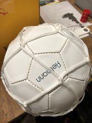 Lederball mit Pumpe neu