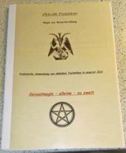 Seltene Gelegenheit Okkulte Unterlage-Sexualmagie