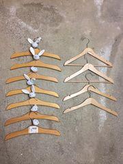 Kinder Kleiderbügel Holz 11 Stck