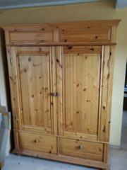 Kleiderschrank echte Holz