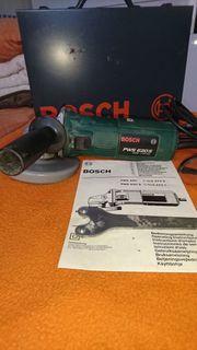 Bosch Winkelschleifer mit Koffer und