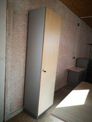 Garderobenschrank Büroschrank Stauraum Flügeltürschrank Büromöbel