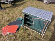 Campingküche Faltbar mit Einlegeböden ideal