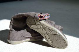 Schuhe, Stiefel - CROCS Stiefel Wildleder BRAUN Größe