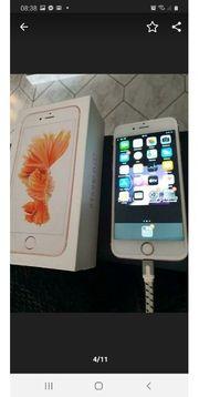 I Phone S6 rosegold mit
