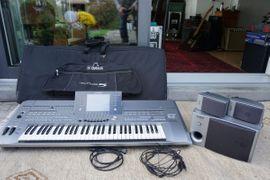 Yamaha Tyros 5,Top Keyboard Boxen & Bag