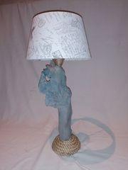 Tischlampe Treibholzlampe Nachttischlampe
