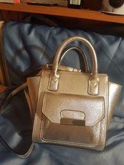 Damen Handtasche silberfarben NEW LOOK