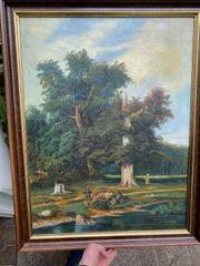Joseph Kosinski 1753-1821 Ölgemälde Szene