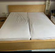 Ikea Malm Bett mit Lattenrost