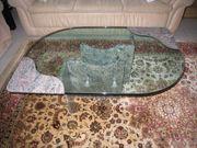 Couchtisch Marmor mit Glasplatte