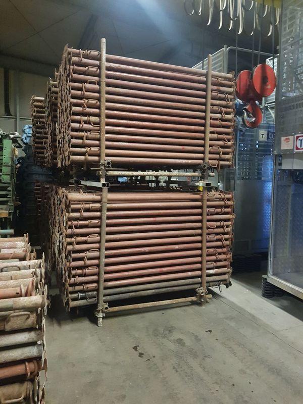 Schwerlaststützen Baustützen Bausprießen Baustempel 195