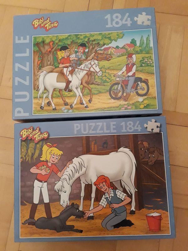 2 Puzzle Bibi und Tina