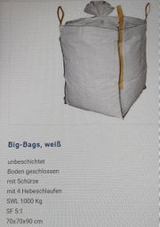 Big Bags weiss SWL 1