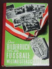 Fussball - Weltmeisterschaft 1954 Buch Original