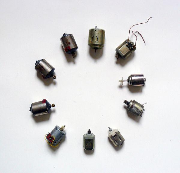 10 verschiedene Elektromotoren