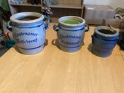 Lustenau Fässer und Töpfe
