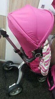 Kinderwagen in Pink