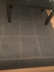 moderner Teppich anthrazit