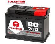 Tokohama Autobatterie 80Ah 780A EN