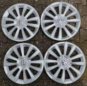 4 original 16 VW Radkappen