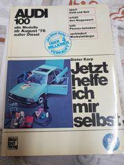 Altes KFZ Handbuch alter Audi