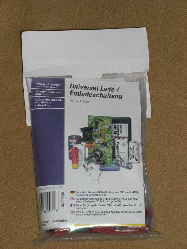 Elektronik univ Lade-Entlade-Bausatz