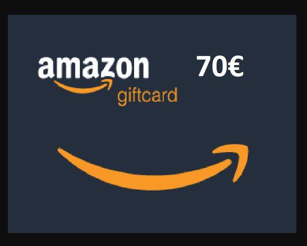 Verkaufe einen 70EUR Amazon Gutschein