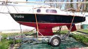 Segelboot Leisure 17 mit Anhänger