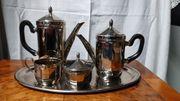 Kaffeeservice Kerstück Neusilber Alpaka