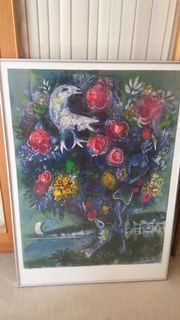 Marc Chagall Poster gerahmt